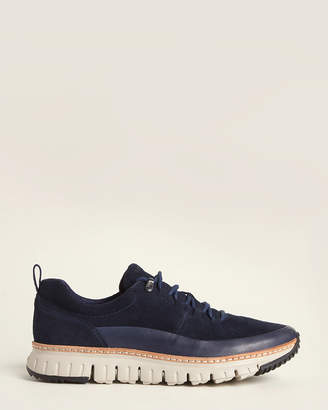 Cole Haan Blueberry Zerogrand Rugged Suede Low-Top Sneakers