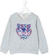 Kenzo tiger sweatshirt - kids - Cotton - 5 yrs