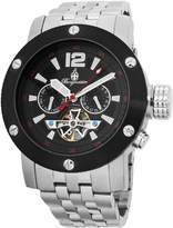 Burgmeister Men's BM329-621 Analog Display Automatic Self Wind Silver Watch