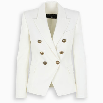 Balmain Black six-buttons blazer