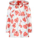 Catimini CatiminiWhite & Red Floral Print Raincoat