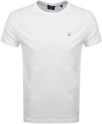 Gant Original T Shirt White