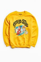 Urban Outfitters Ren And Stimpy Crew Neck Sweatshirt