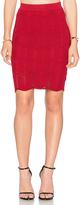 Lucy Paris Seashell Scallop Skirt