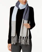 Vince Camuto Colorblock Knit Scarf
