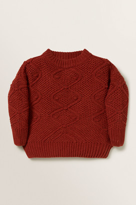 Seed Heritage Bobble Sweater