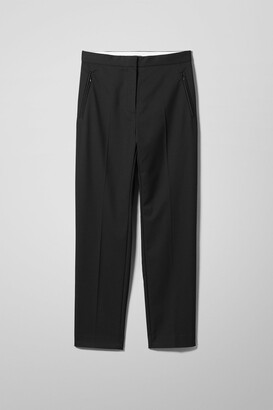 Weekday Club Trousers - Black