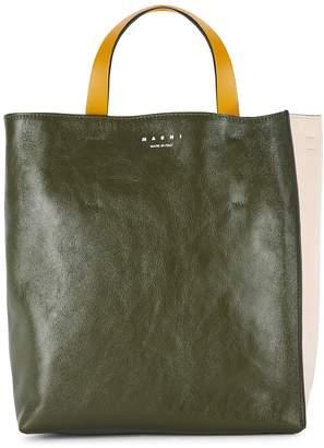 Marni Museo mini leather top handle bag