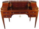 One Kings Lane Vintage Mahogany Carlton Desk by Gerte