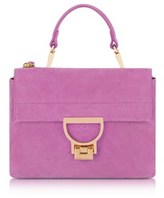 Coccinelle Women's Purple Suede Handbag.
