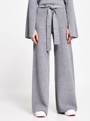 River Island Knitted Lounge Trousers - Charcoal
