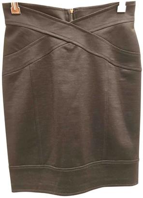 Miriam Ocariz Black Wool Skirt for Women