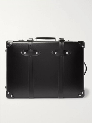 """Globe-trotter Globe Trotter Centenary 20"""" Leather-Trimmed Carry-On Suitcase"""