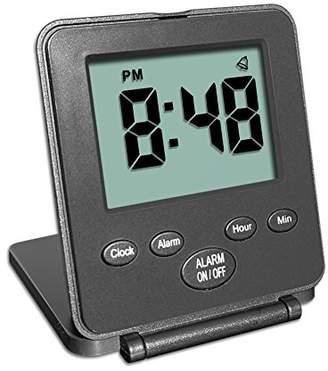 Digital Travel Alarm Clock - No Bells