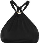 Vix Embellished Halterneck Bikini Top - Black