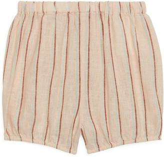 Arket Linen-Cotton Baby Shorts