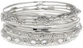 Joe Fresh Multi Row Bangle Bracelet
