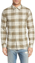 Current/Elliott Classic Fit Plaid Sport Shirt