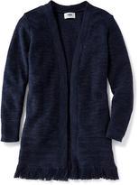 Old Navy Crochet Open-Front Cardi for Girls