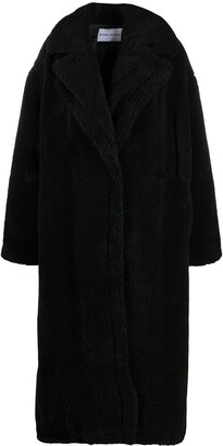 Stand Studio Shearling Single-Breasted Coat