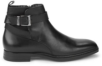 Karl Lagerfeld Paris Leather Ankle Boots