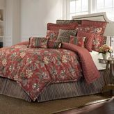 Rose Tree Durelme Reversible King Comforter Set in Red