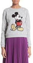 Marc Jacobs Women's Embellished Mickey Shrunken Sweatshirt