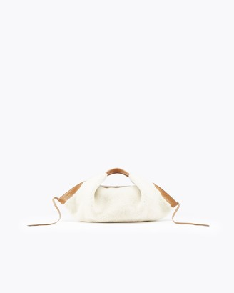 3.1 Phillip Lim Luna Shearling Mini Slouchy Hobo Bag