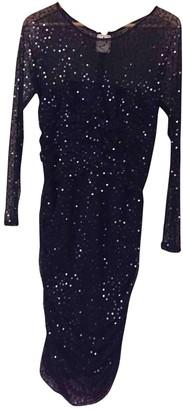 Tadashi Shoji Black Glitter Dress for Women