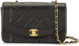 Chanel Pre Owned 1997 Diamond Quilted Crossbody Bag