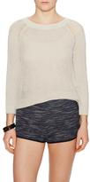 Inhabit 3/4 Sleeve Crewneck Sweater