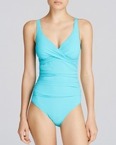 Gottex Profile by Tutti Frutti Crossover One Piece Swimsuit