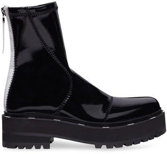 Fendi biker-style ankle boots