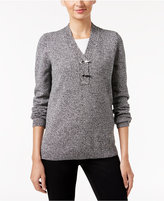 Charter Club Henley Sweater, Only at Macy's