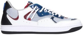 Ylati Sneakers In Grey Leather