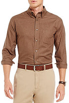 Daniel Cremieux Signature Long-Sleeve Solid Heather Woven Shirt