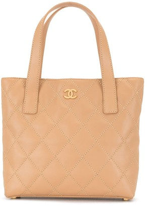 Chanel Pre Owned 2004 Wild Stitch tote bag