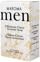 Smallflower Olibanum Citrus Men's Soap by Maroma (150g Soap Bar)