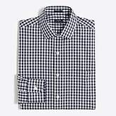 J.Crew Factory Gingham flex wrinkle-free Voyager dress shirt