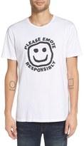 Altru Men's 'Emote Responsibly' Graphic T-Shirt