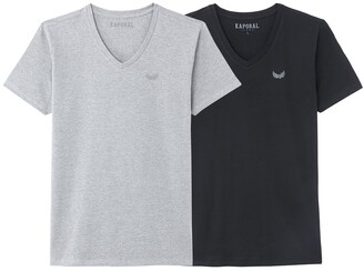 Kaporal Pack of 2 Cotton T-Shirts with Short Sleeves