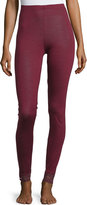 Hanro Chiara Lounge Leggings, Red Plum