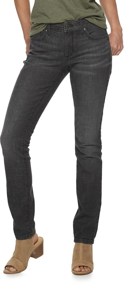 NWT Women/'s Sonoma Goods for Life Supersoft Stretch Mid Rise Skinny Jeans