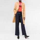 Paul Smith Women's Tan Wool-Cashmere Epsom Coat