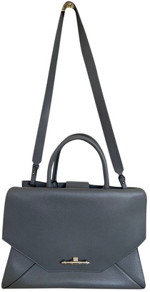 Givenchy Obsedia Tote Grey Leather Handbags