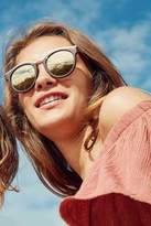 Le Specs Hypnotize Round Sunglasses