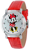 Disney Minnie Mouse Women's Vintage-Style Watch