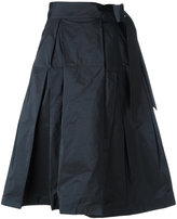 Jil Sander Navy midi full skirt