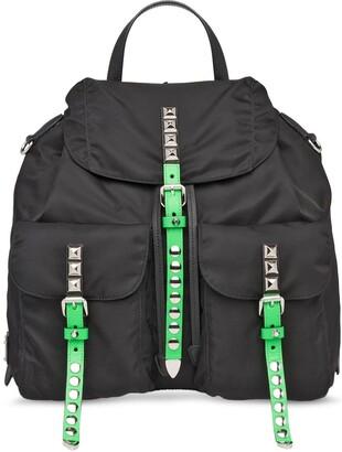 Prada Black Nylon Backpack