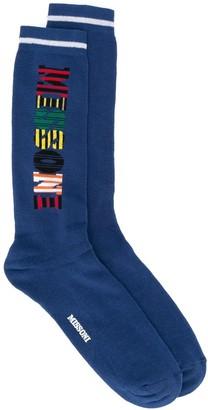 Missoni Patterned Logo Socks